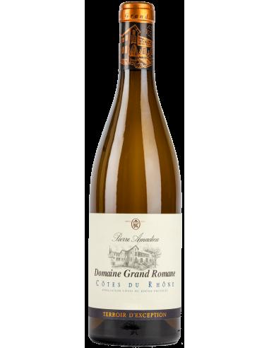 Côtes du Rhône blanc Domaine Grand Romane Pierre Amadieu